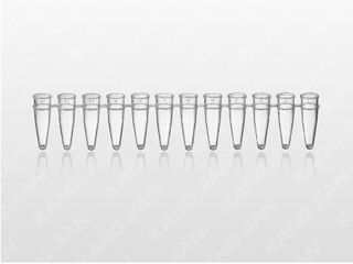PCR-12联可拆反应管 0.2ml透明