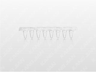 PCR-8联不可拆反应管 0.1ml透明