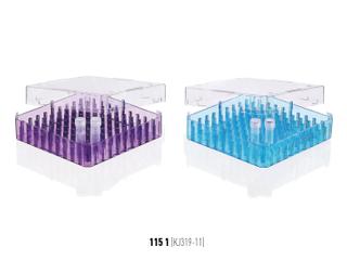 凍存管盒 100格