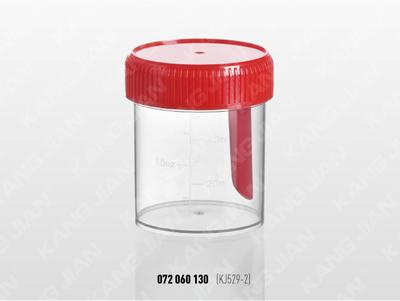 大便標本杯 60ml 帽匙一體式